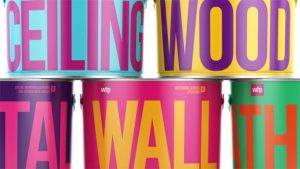 Starting a business will require a lot of time in branding, like these colorful paint cans.