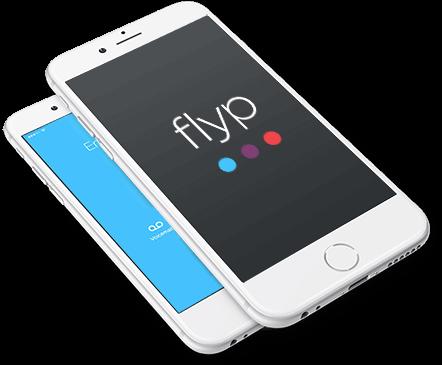 Flyp phone logo