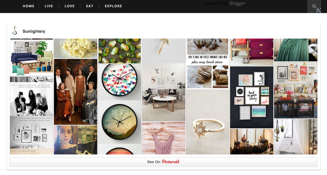 Using a plugin to show your feed is one of our real estate marketing tips for pinterest.
