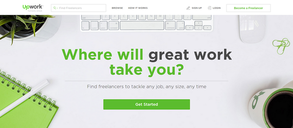 boost freelancing income by getting on online freelancing marketplaces, like UpWork.