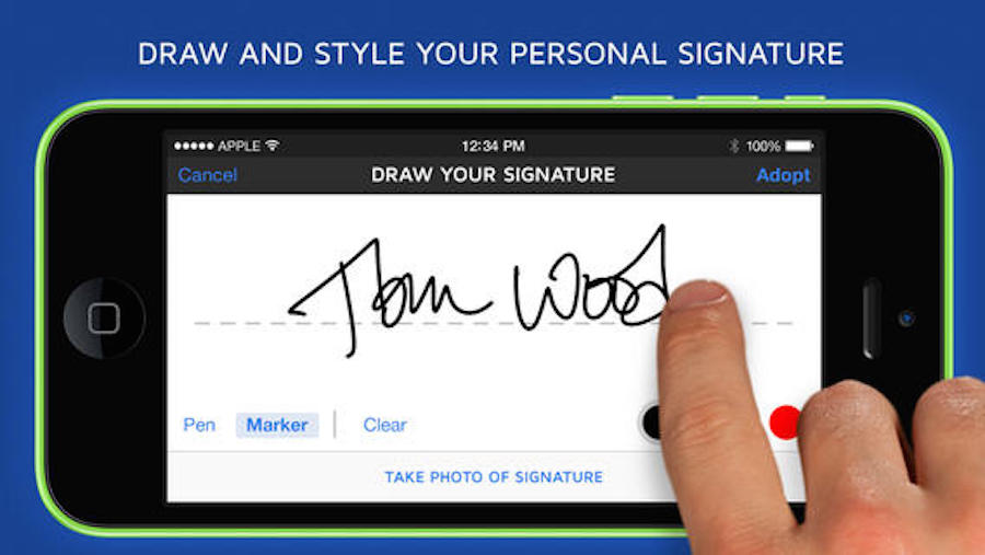 docusign-iphone-4